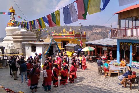 Buddhistisches Kloster in Nepal - Gemeinschaft und Spiritualität erleben