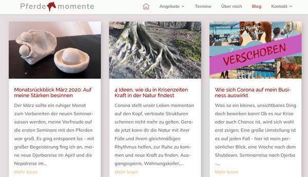 Freude am Bloggen